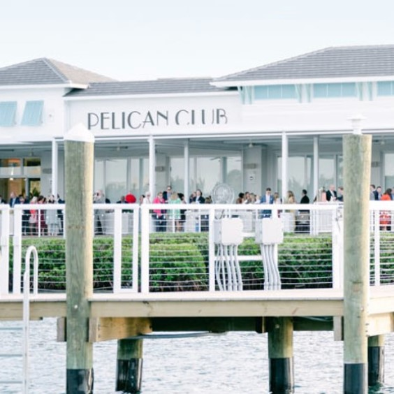 View of Pelican Club from the Water
